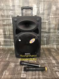 sĩ điện thoại] loa kéo karaoke di động ronamax mt12 bass 3 tấc giá rẻ kèm 2  micro không dây - Sắp xếp theo liên quan sản phẩm