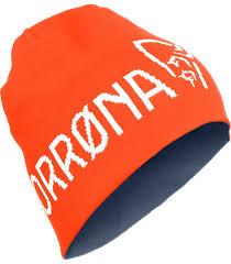 <b>Шапка Norrona</b> /<b>29</b> Thin Logo Scarlett Ibis - купить в магазине ...