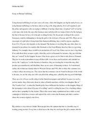 essay on human trafficking dk essay on human trafficking
