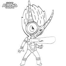 Pj Masks Coloring Pages Printable Coloring Page For Kids