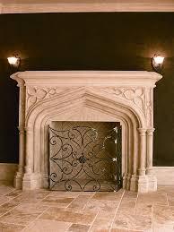 vintage fireplace mantels