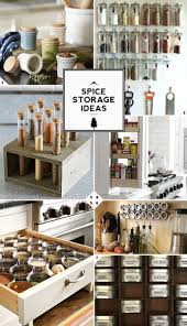 Creative For Kitchen Creative Kitchen Spice Storage Ideas And Solutions Home Tree Atlas