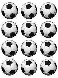 Soccer Ball Icing Decorations Decorative Balls edible soccer ball cake decorations 61