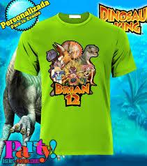 Design Camisetas Programa Playera Personalizada Dinosaurios Dino Rey Jinx Playera