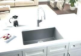 Blanco Sink Colors Cinder Colours Precis Granite Composite  Kitchen In Metallic Gray   I88