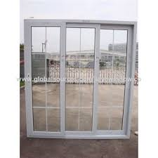 china pvc sliding door with handle lock