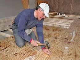 how to install hardwood floors on concrete slab with framing