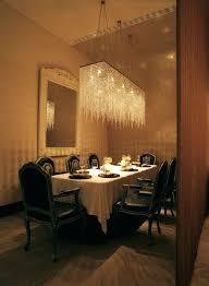 rectangular chandelier on rectangular crystal chandelier dining room