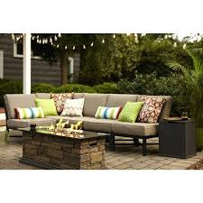 outdoor benches beautiful garden treasures palm city 5 piece black steel patio outdoor benches