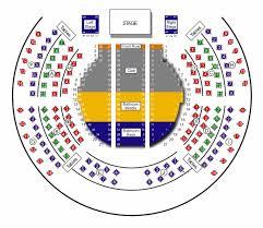 Casino Ballroom Seating Chart Tix Seat Map