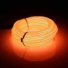 Giảm 45 %】 10 m Đèn LED Dẻo Đèn Neon Phát Sáng EL Dây Ống Dây Phát Sáng  Trang Trí Xe Hơi