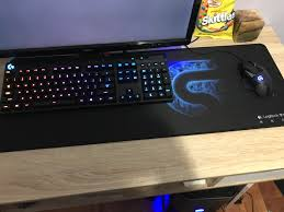 just got my extended mousepad