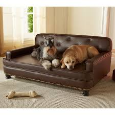 enchanted home pet library sofa pet bed  brown pebble  hayneedle