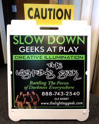 Lighting Geek The Lighting Geek Seale Signs Roseville Ca