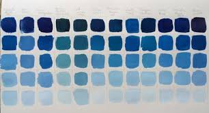Phthalo Blue Red Shade Golden Acyrlic Color Mixing Charts