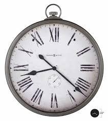 625572 antique nickel gallery howard miller pocket watch antique nickel 625572 antique nickel second hands 625572 pocket watch style wall clock