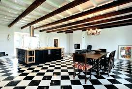 kitchen tile ideas black and white black and white tile floor black white kitchen designs black