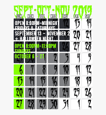 Hours Of Operation Design Dates Hours Of Operation Graphic Design Hd Png Download
