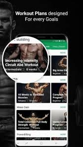 gym workout trainer and fitness coach