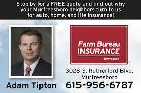 Farm Bureau Insurance Quote Enchanting Adam Tipton Farm Bureau Insurance