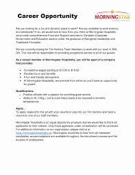 Resume For Tim Hortons Job Resume Samples For Tim Hortons Elegant Tim Hortons Resume Resume 18