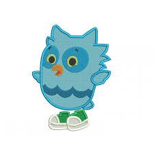 Owl Birthday Applique Design O The Owl Daniel Tiger Neighborhood Filled Embroidery Design