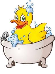 jpg black and white bathtub cartoon clip art small yellow duck
