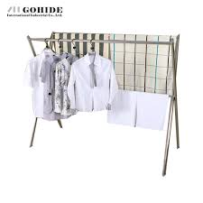 Folding Coat Rack Gohide X Type Coat Rack Stainless Steel Racks Floor Folding 62