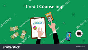 By Design Credit Counseling Credit Counseling Concept Illustration Man Counting Stock