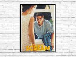 SCREAM 1996 Billy Loomis Skeet Ulrich Neve Campbell Wes Craven Poster Print  Original Vintage Retro Horror Movie The Craft Sidney Prescott | Poster  prints, Retro horror, Retro prints