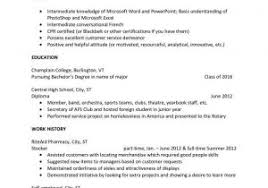 Free Resume Templates For Students And Technical Resume Template