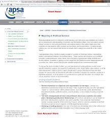 Apsa Citation Tutorial Website