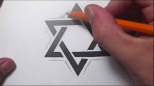 How To Draw A Star Design How To Draw A Star Of David Tattoo Design