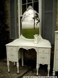 painted antique vanity furniture