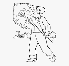 Community Helpers Clipart Coloring - Community Helpers ...