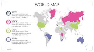 World Map Power Point World Map Free Powerpoint Template