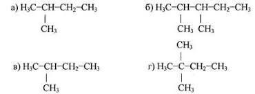 Контрольная работа по теме Предельные углеводороды  А 3 Название вещества структурная формула которого