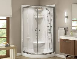 freestyle 37 one piece neo round shape shower with talen door
