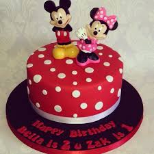 10 Mickey And Minne Mouse Cakes Photo Mickey And Minnie Mouse