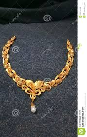Gold Beautiful Necklace Design Gold Stock Image Image Of Necklace Design Gold Love