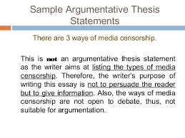 argumentative essay sample argumentative thesis statements