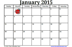 2015 Calendar Page January 2015 Calendar Image Free Rr Collections