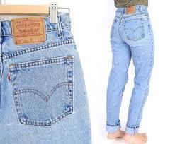 Vintage 90s High Waisted Levis 512 Slim Fit Jeans Size 10