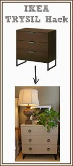Ikea Chest Hack Ikea Hack Fabric Covered Trysil Chest Driven By Decor