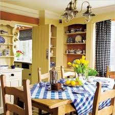 yellow country kitchens. Lovely Kitchen With Yellow And Blue Country Kitchens T
