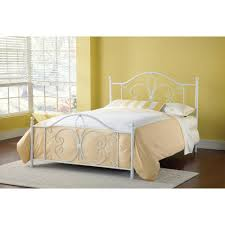 Hillsdale Furniture Ruby Textured White Full Bed Set 1687BFR - The ...