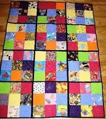 Quilt, Knit, Run, Sew: I Spy Quilt Ideas - Part 1 of 3 & Another quilt as you go style is the simple 9 patch. Here is a 9-patch that  uses plain primary colors as alternating patches. Great space for  practicing ... Adamdwight.com