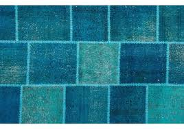 over dyed patchwork rug 5 5 x 8 6