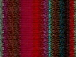 Noro Kureyon 326 Fuchsia Reds Sage Browns Aqua