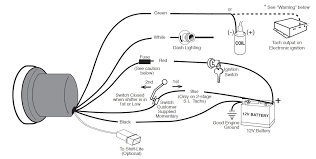 guide 13500 01 how to install an auto meter sport comp 5in tachometer w shift on autometer c2 tach wiring diagram